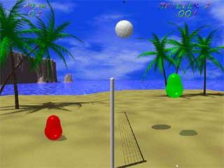 Download Game Blobby Volley Versi 1 Gratis Gambar1